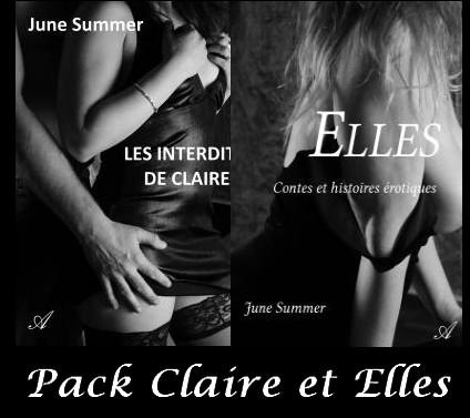 DUO Livres.Claire et Elles 29.90