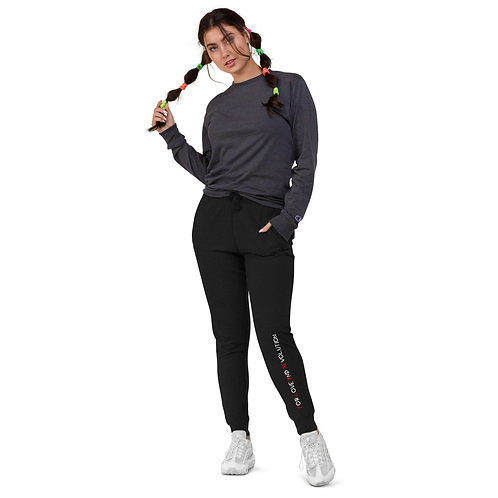 For Love and Revolution Skinny Joggers