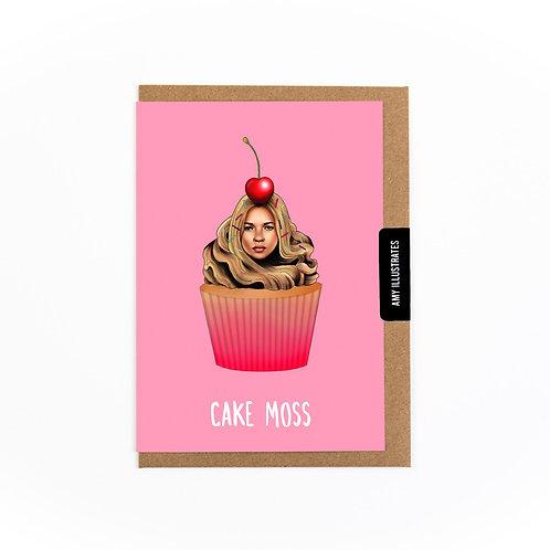 Cake Moss Greetings Card