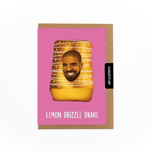 Lemon Drizzle Drake Greetings Card