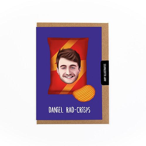 Daniel Rad-crisps Greetings Card