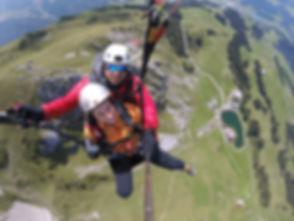 Paraglidng Luzern Engelberg Switzerland