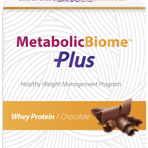 MetabolicBiome Plus [Grass Fed Whey Protein-Chocolate]