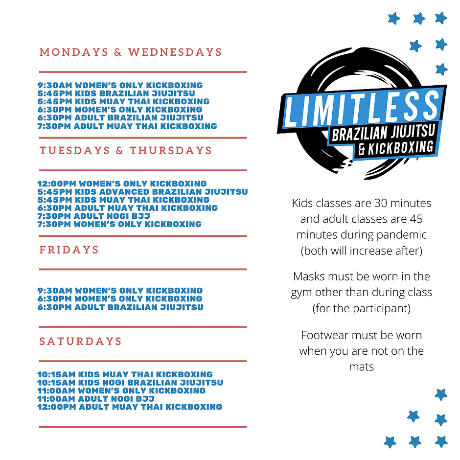 Limitless BJJ Schedule.png