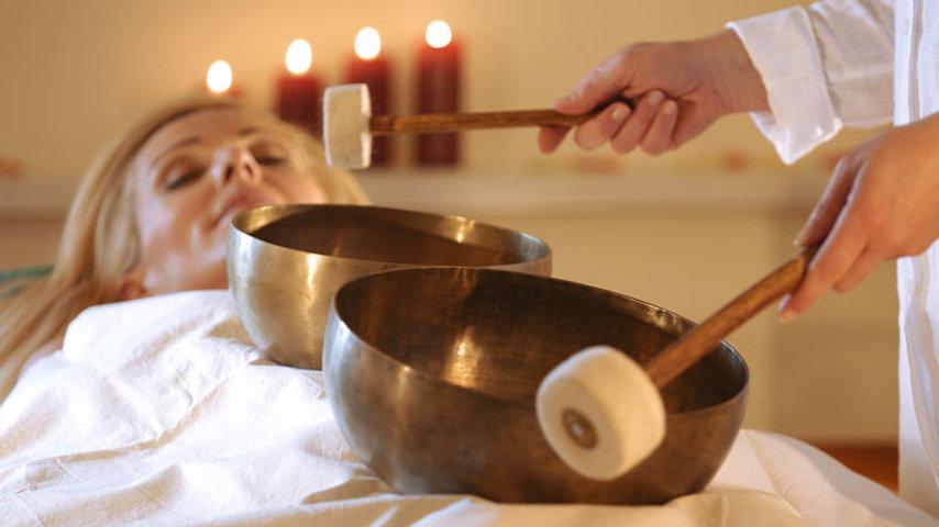 Klangschallen Massage