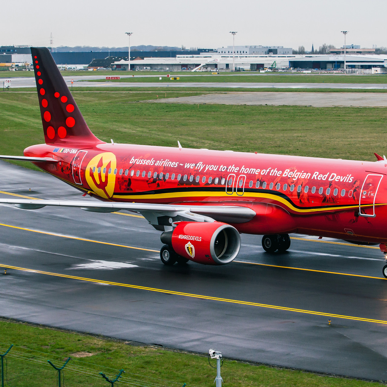 016_Taxiing in after arrival_Brussels Ai
