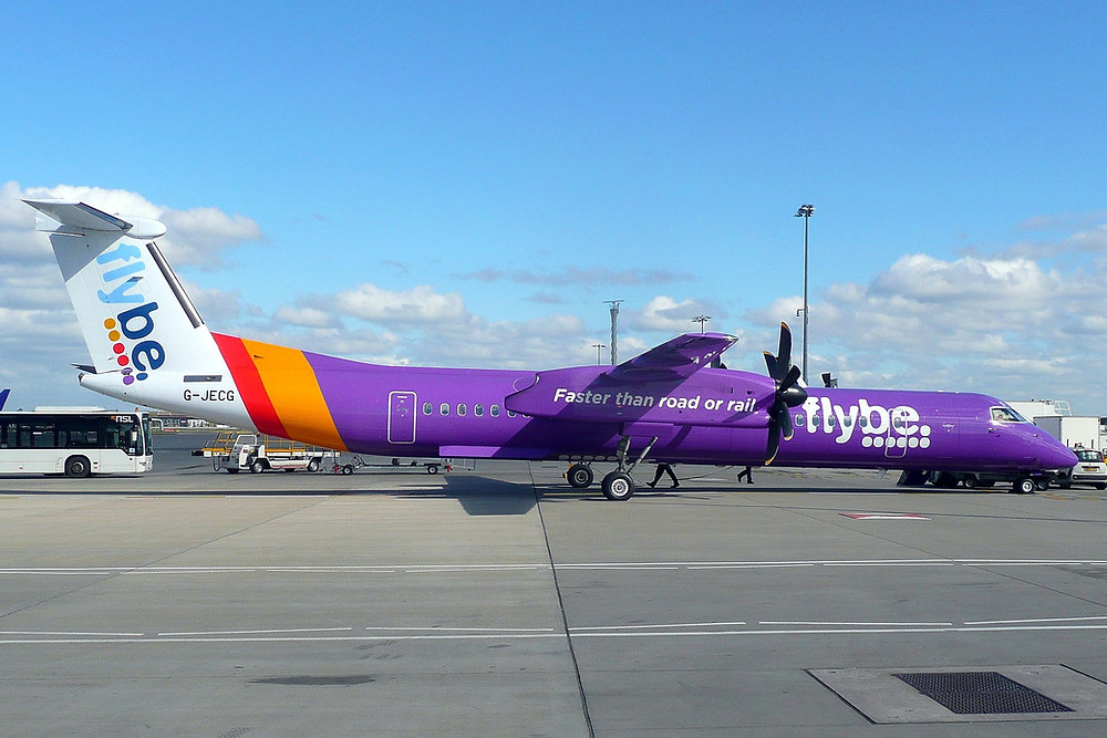 Could Flybe's Heathrow slot portfolio be behind a proposed acquisition?  (John Taggart)
