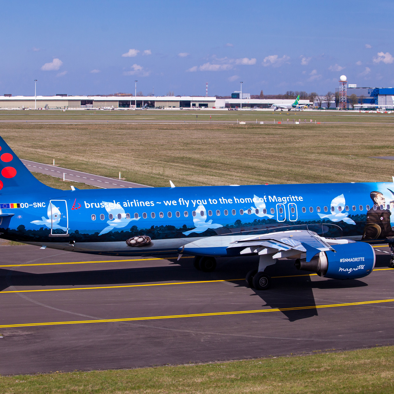017_Taxiing to R 25 right_Brussels Airli