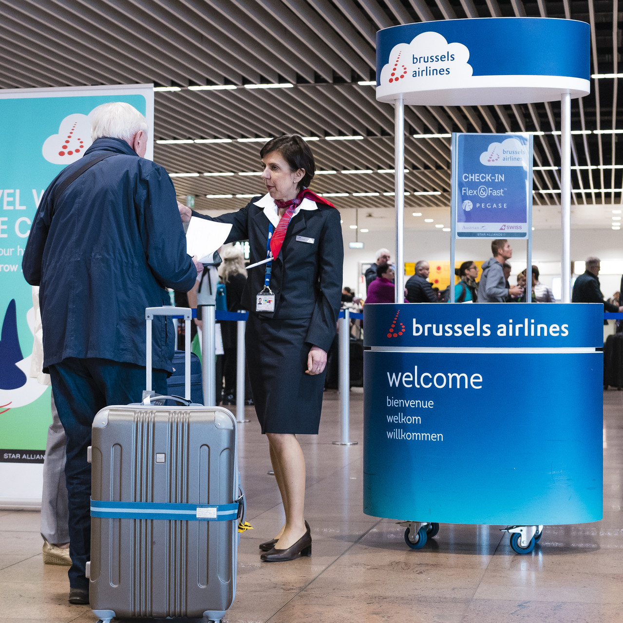 003_Check In_Brussels Airlines