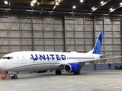Aviation: United's new colours revealed