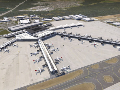 Aviation: Frankfurt starts Terminal 3 build
