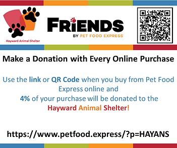 Bay Area Pet Fair Petfood Express QR Cod