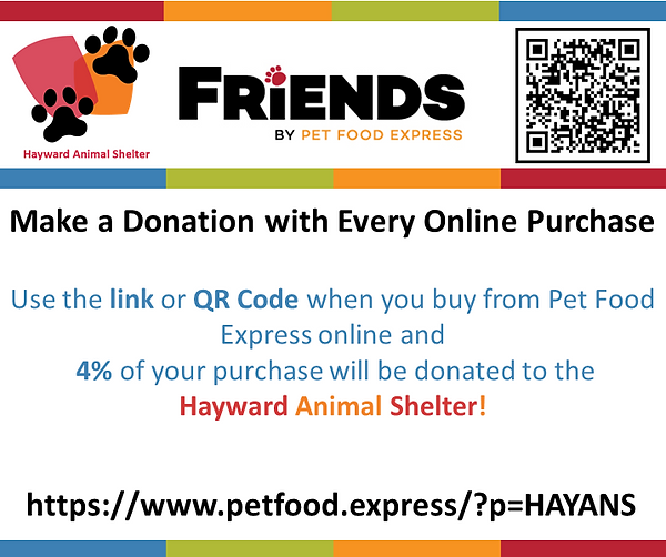 Bay Area Pet Fair Petfood Express QR Cod