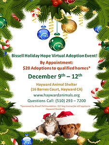 Bissell Holiday Empty the Shelters 2020.