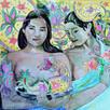 Gauguin Women Gather Pailsey