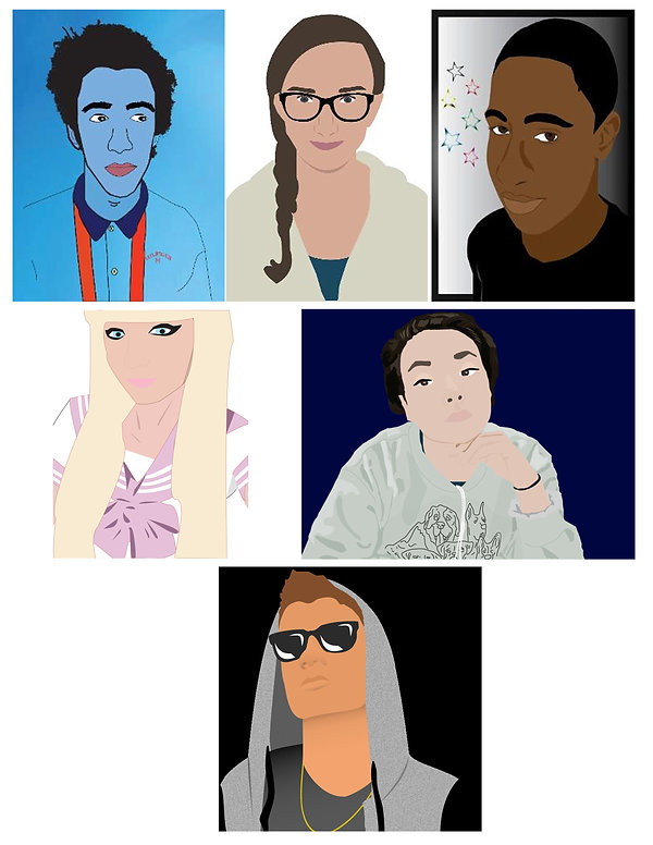Student Illustrator Portrait Examples.jp