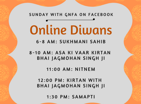 Online Diwan Schedule & Closure Update