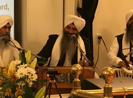 GNFA welcomes Bhai Harjeet Singh Khalsa and jatha, Ludhianewale, for the month of March