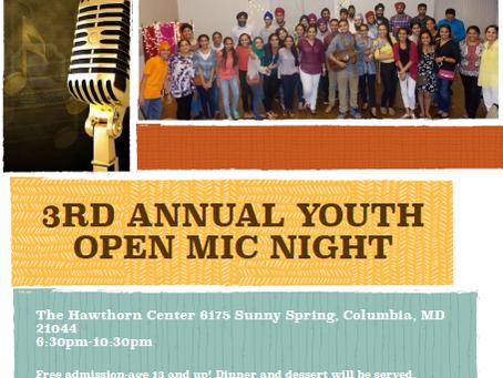 Sikh Youth Open Mic Night