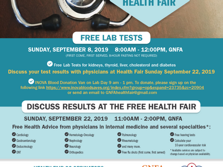 Senator Craig Zucker to speak at GNFA 10 AM and Health Fair at 11AM