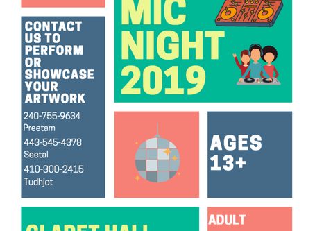 Youth Open Mic Night 2019
