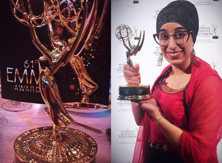 Sikh woman to take home an EMMY!