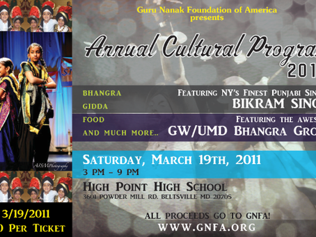 2011 Cultural Program