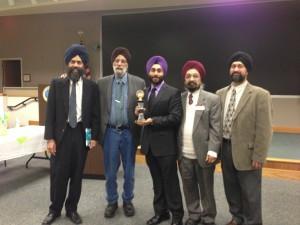 Khalsa Toastmasters Wins Area 45 International Speech Contest