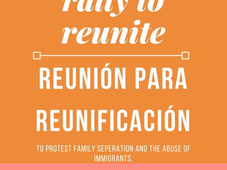 Rally to Reunite – July 8, 2018