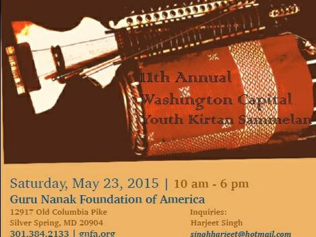 Washington Capital Sikh Youth Kitan Sammelan-May 23, 2015