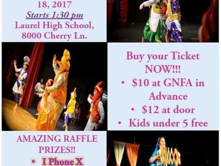 GNFA Annual Cultural Program – Nov 18, 2017