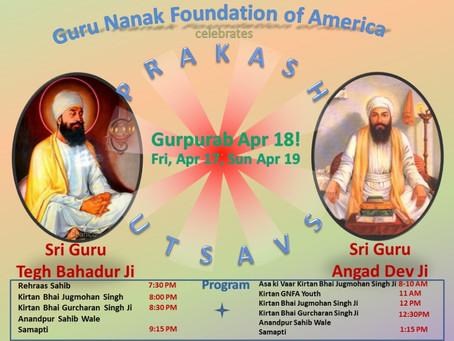 GNFA celebrates Prakash Utsavs