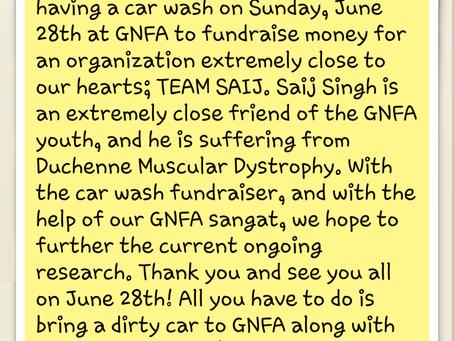 Event: Car Wash – June 28, 2015