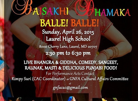 GNFA Cultural Program – April 26, 2015