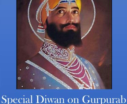 3 Day Celebration of Guru Gobind Singh Ji Maharaj's Parkash Purab – Jan 15-16-17, 2016