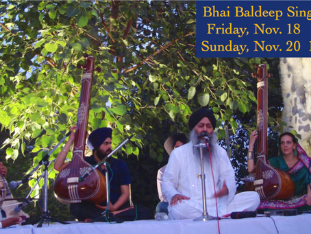 Bhai Baldeep Singh – This Friday & Sunday