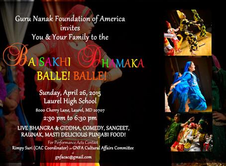 Baisakhi Dhamaka – April 26, 2015