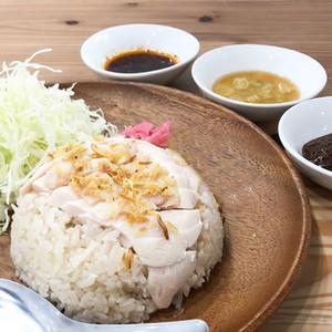 夙川鶏飯 白