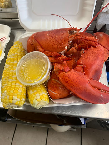 Lobster with Corn on the Cob
