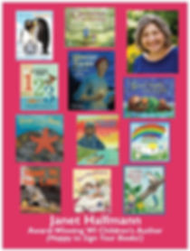 Children's author Janet Halfmann's books