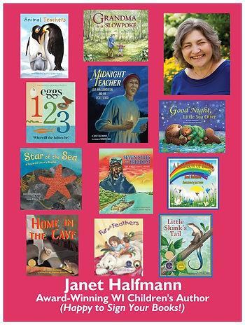Children's author Janet Halfmann's books