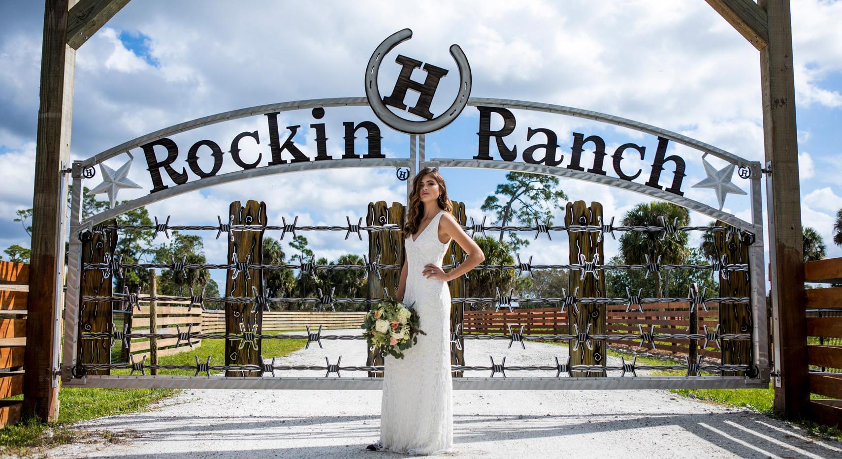 Rockin H Ranch Gate