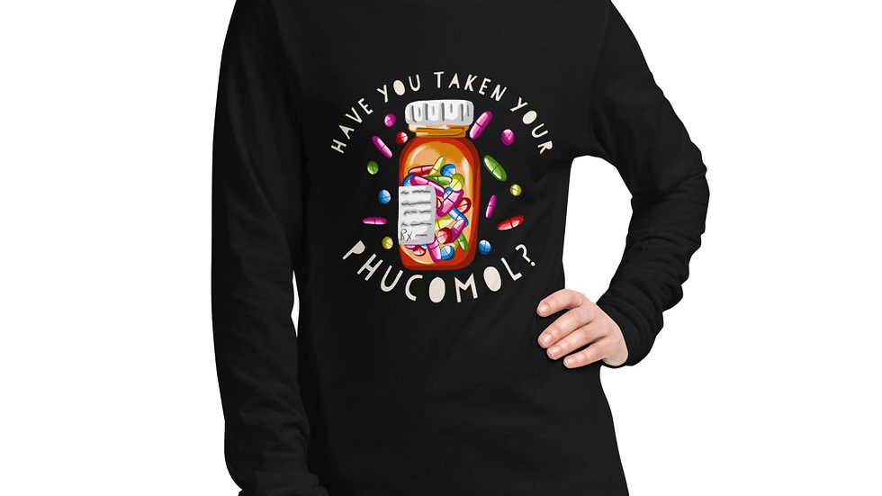 Unisex Long Sleeve Tee-Phucomol