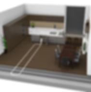 Aufbau Möbeleinbau Schlaucheinzug Küche
