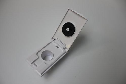 Einbausaugdose VEX-L Kunststoff 8x13, weiß
