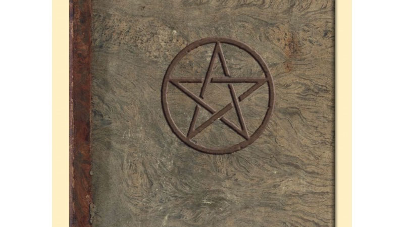 Grimoire journal Wicca