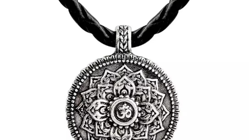 Pendentif spirituel Mandala