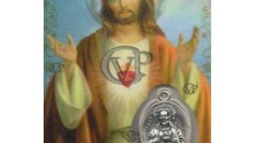 Médaille Jésus sacré cœur