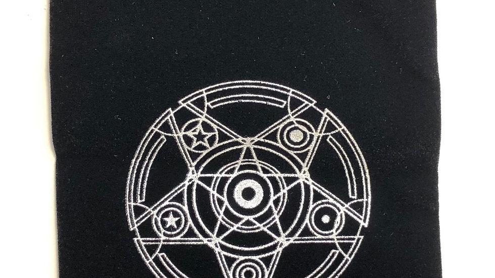 Bourse ésotérique pentagramme pentacle