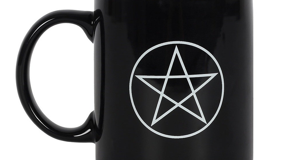Mug tasse pentagramme pentacle